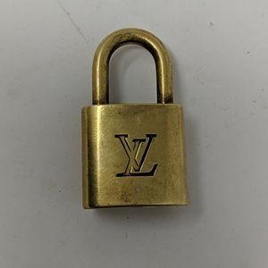 Vintage Louis Vuitton padlock